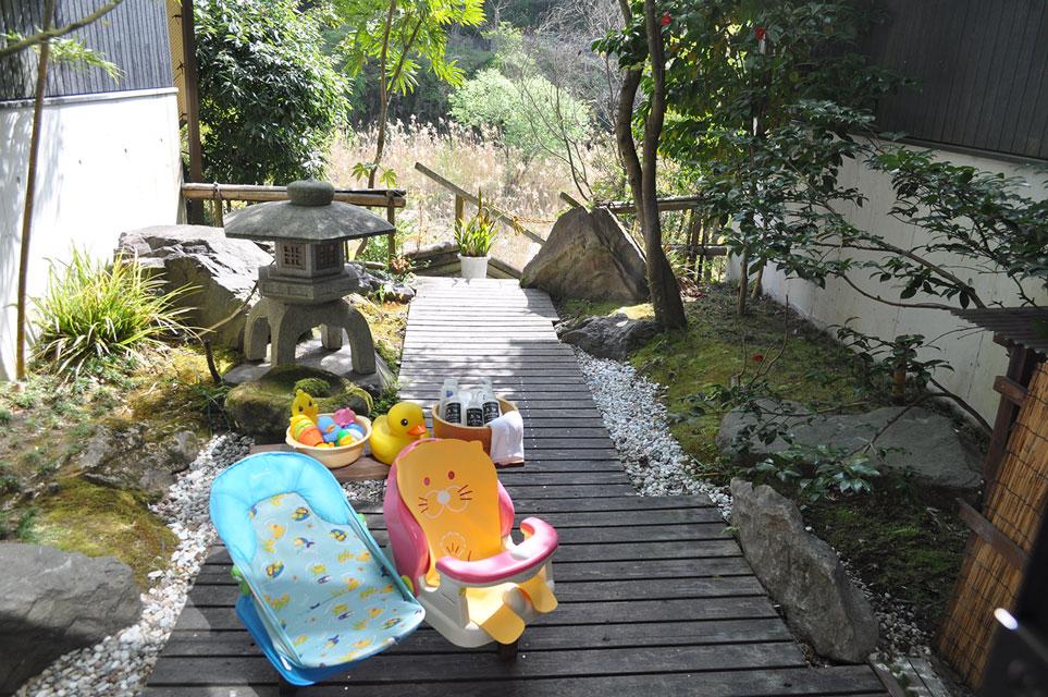 カゴプラ温泉かれい川テラス