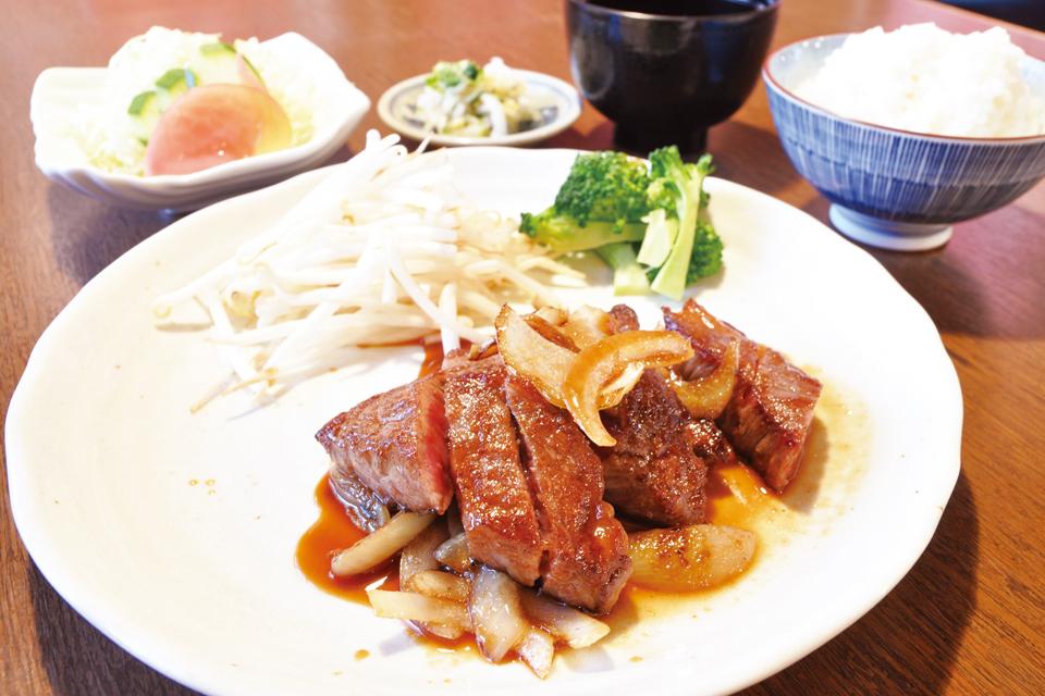 梵道留・和牛ステーキ