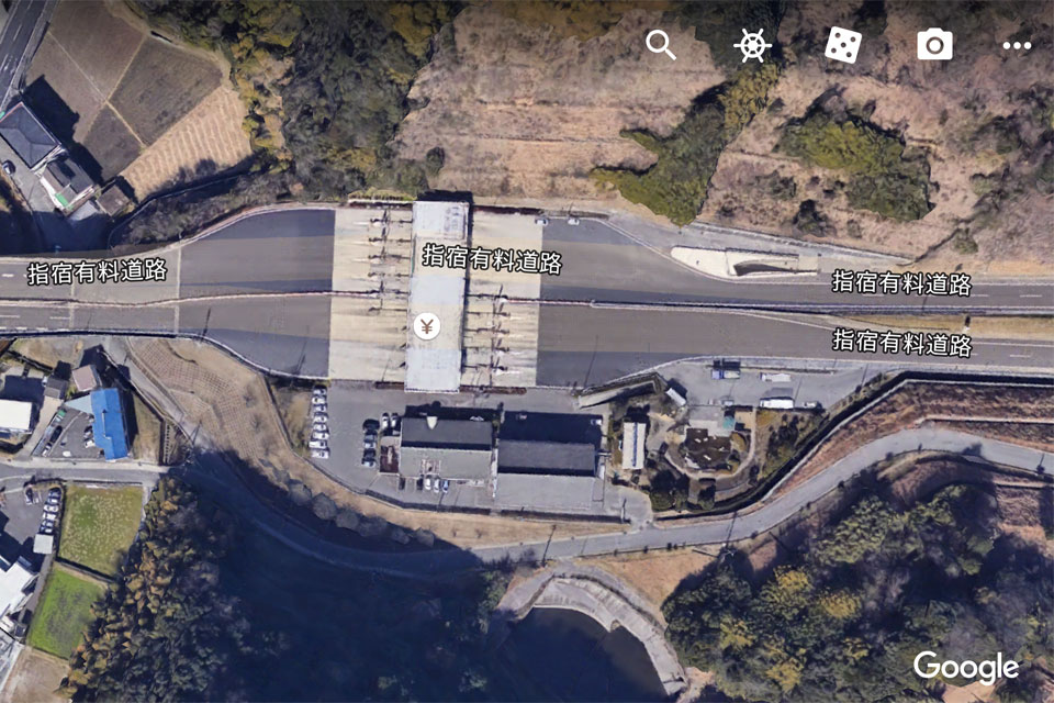 高速道路山田料金所にETCが設置されます