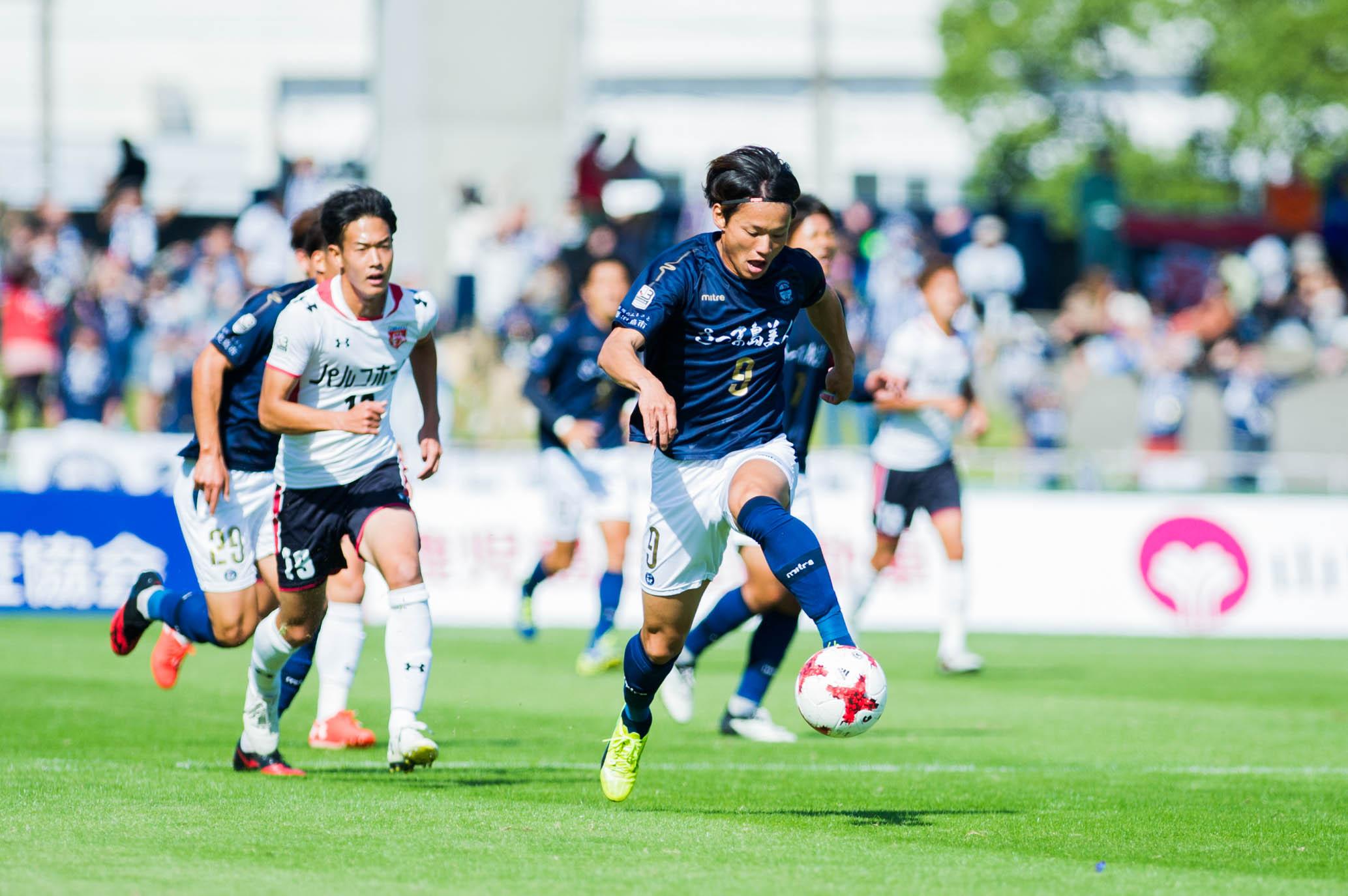 2018明治安田生命J3リーグ 鹿児島ユナイテッドFCvsセレッソ大阪U-23(第14節)