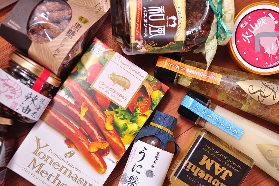 阿久根の「物産館ここマルシェ」に鹿児島の洗練されたオシャレなお土産が大集合!