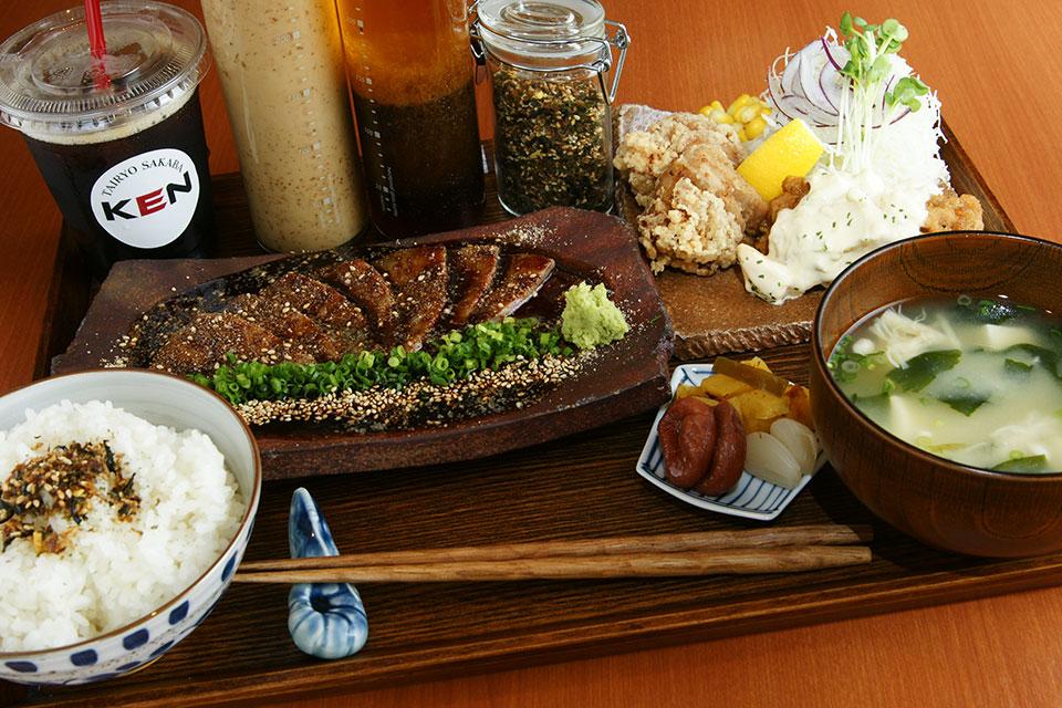 産直食材がウリの居酒屋『憲』が提供するメニュー豊富なランチに注目!