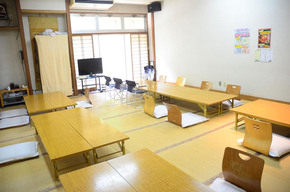 カゴプラ温泉渓谷苑5休憩室