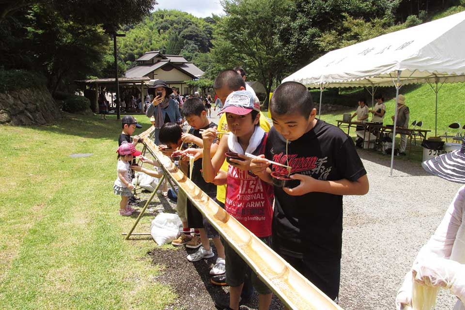 第17回夏ソーメン流しin北薩広域公園