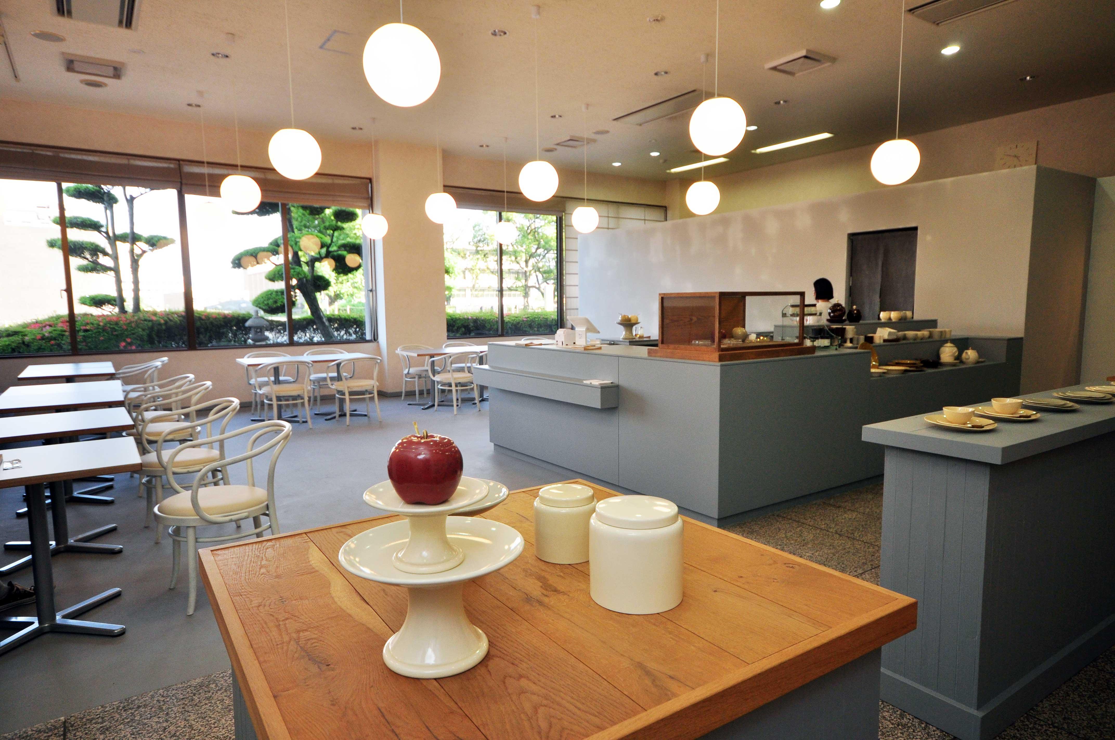 【CHIN JUKAN POTTERY 喫茶室】黎明館内にオープン!薩摩焼の器で鹿児島の美味しいものを