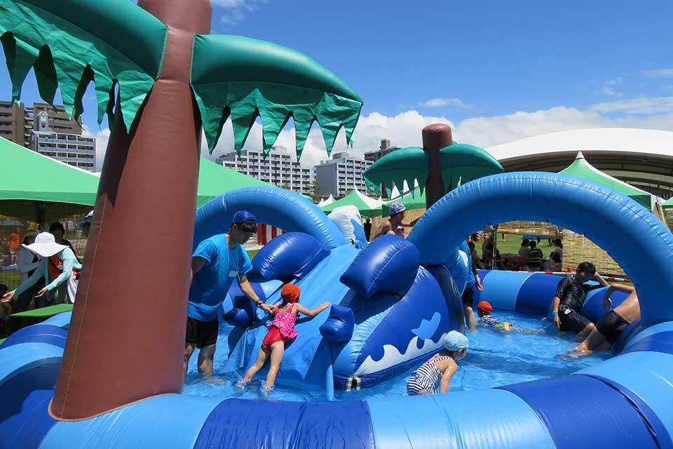 【かごしまポセイドン〜水のゆうえんち〜】イオンモール鹿児島で開催!水の遊園地